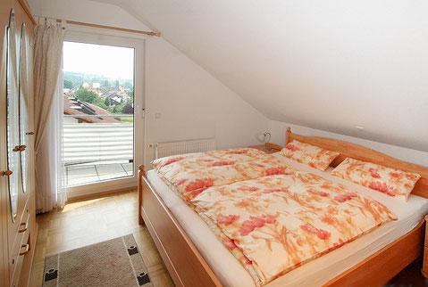 Ferienwohnung Bad Bellingen mit separatem Schlafzimmer
