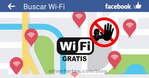 Buscar wifi gratis con Facebook