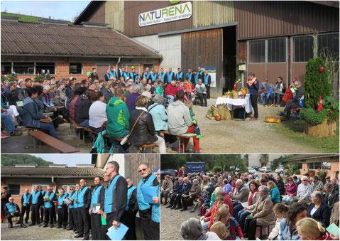 Erntedank- und Bettagsgottesdienst auf dem Erlenhof in Wittnau
