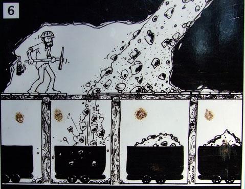 bömischer Karst Altbergbau Amerika Morina Kalkbergwerk Stollen Rollloch