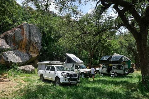 Maleme Campsite im Matobo NP