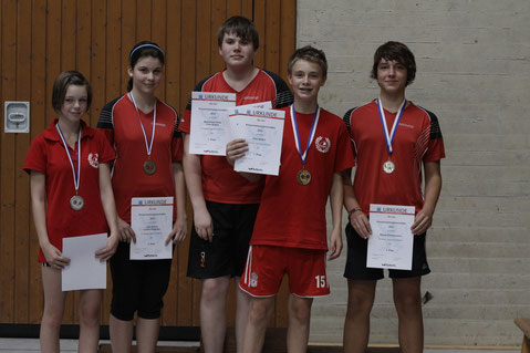 Training zahlt sich aus: In den Jahren 2011 und 2012 wurde so manche Medaille eingefahren.