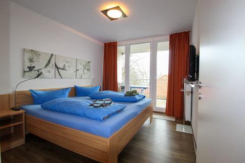 Ferienwohnung Duhnen 3.23 Schlafzimmer