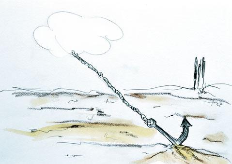 Roland Maurmair, Zeichnung