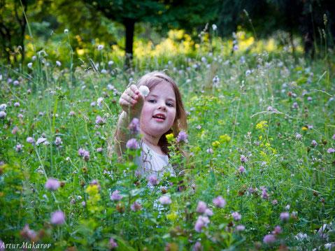 Детская фотосессия в Роганском Дендропарке Харькова