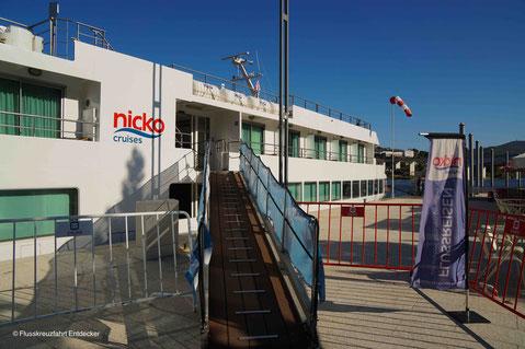 nicko cruises MS DOURO CRUISER in Entre-os-Rios