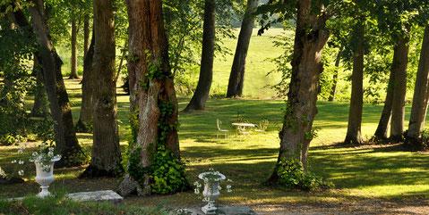Parc - Domaine de l'Ermitage - Photo: Véronique Hadengue