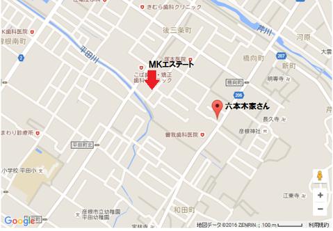六本木家 地図