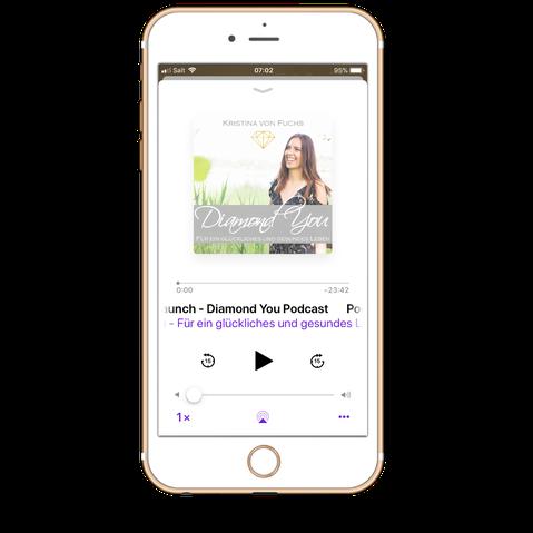 Diamond You Podcast für ein gesundes und glückliches Leben