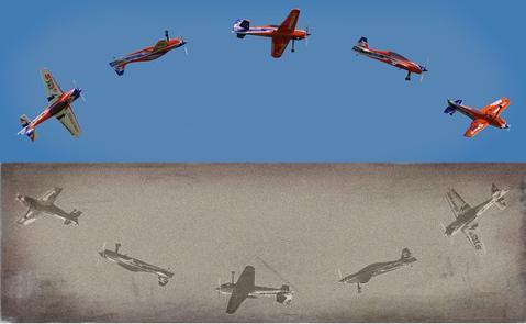 Bilder altern mit dem Bakamatsu Koshashin Generator in Sekunden. (oben ohne, unten mit Filter)