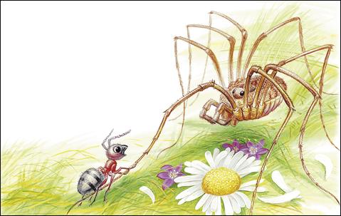 """Сказка """"Приключения муравьишки"""" В.В.Бианки в картинках, читать"""