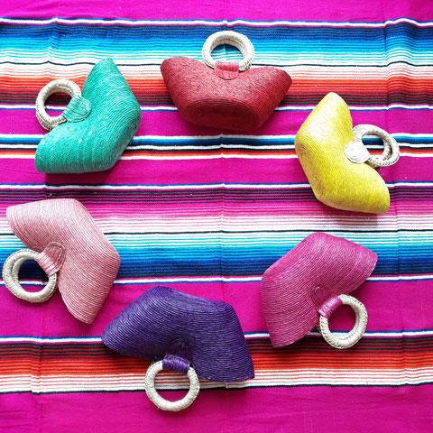 Kindertasche Mädchen, Shopper Mädchen, Lunchbag Mädchen, Puppentasche Mädchen, Beach Tasche Mädchen, Strandtasche, Shopper, Einkaufstasche Kinder, Mexikanische Kunsthandwerk, Mexikanische Textilien, Handwerkskunst, nachhaltige Taschen, Palmenblatt