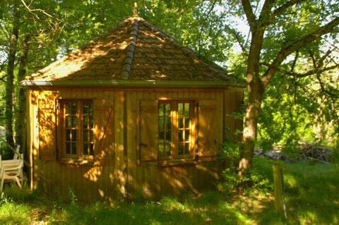 maison-kiosque ossature bois