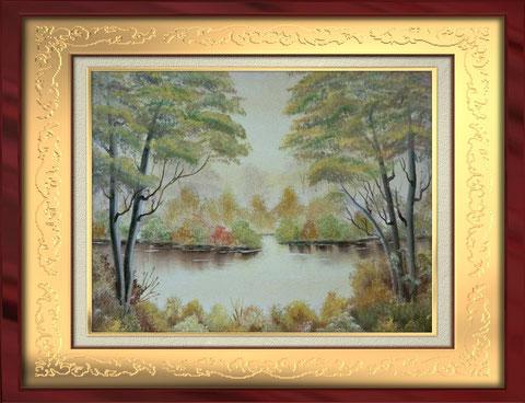 Herbstlandschaft - ohne Rahmen -