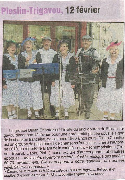 Le Petit Bleu - 9 février 2012