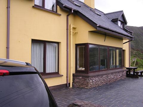Unser Ferienhaus High Rise in der Nähe von Waterville. Direkt am Ring of Kerry gelegen.