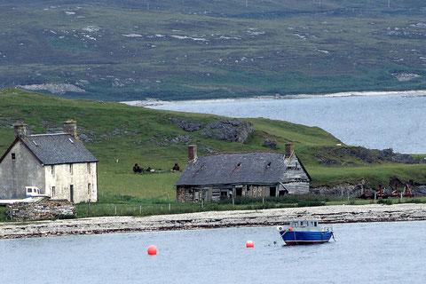 paysage écossais de bord de mer