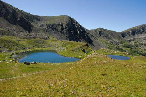 les lacs de prals (2280m )