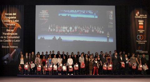 Anterior Gala de las Becas CYLO y RELEVO