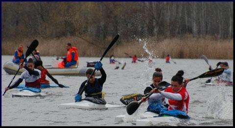Sprint final del pasado Campeonato de Invierno