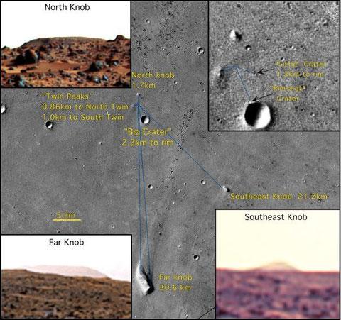 Landungsumfeld (NASA)
