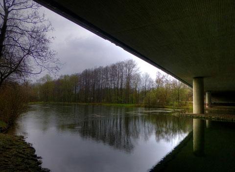 Am Autobahnweiher (HDR)