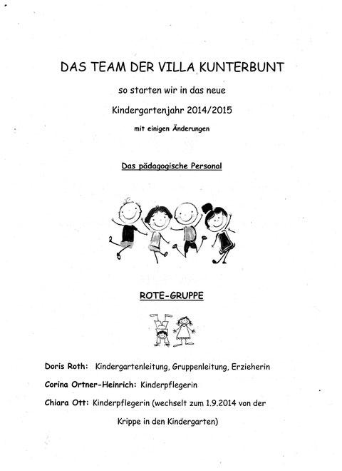 Elternbrief Personalinfos S. 1
