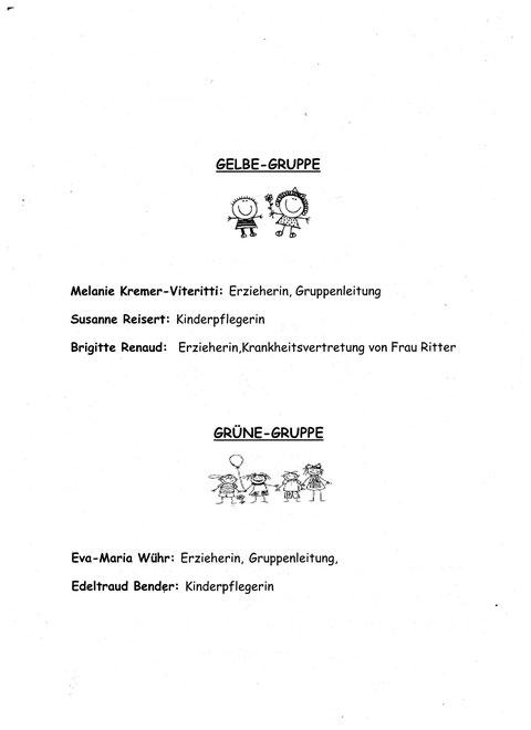 Elternbrief Personalinfos S. 2