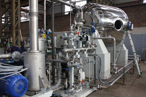 6m3 ROTOSOL Unit during production