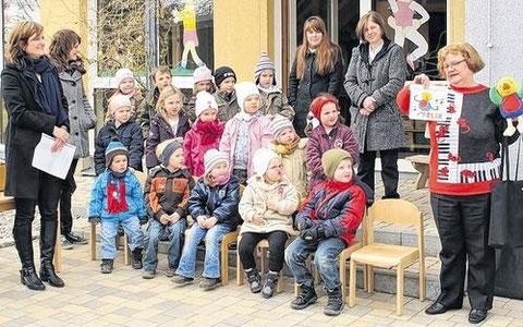 Kindergarten St. Elisabeth Schleerieth - Marz 2010