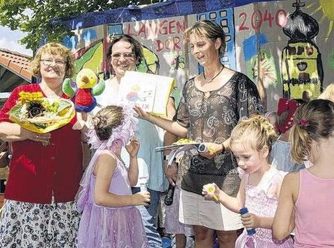 Kindergarten Regenbogenland Langendorf - Juli 2010