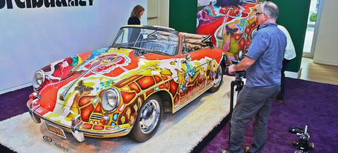 PORSCHE 356 SC CABRIOLET 1964 JANIS JOPLIN