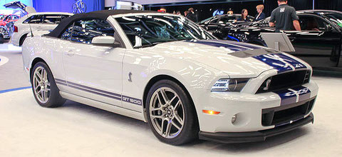 SHELBY GT500 CABRIOLET 2014