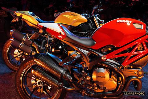 2 Ducati at the Orange Julep