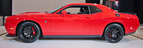 DODGE CHALLENGER HELLE CAT 2016