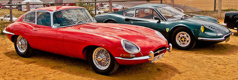 Jaguar E-Type / Dino