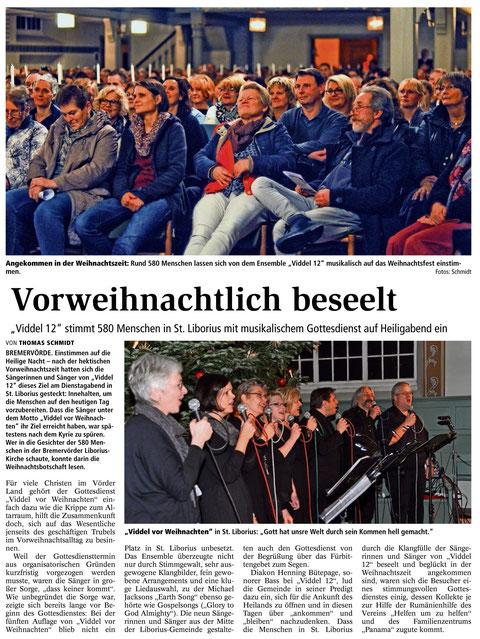 Bremervörder Zeitung, 24.12.2015