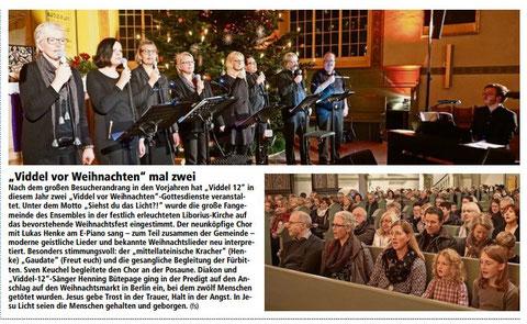 Bremervörder Zeitung, 24.12.2016