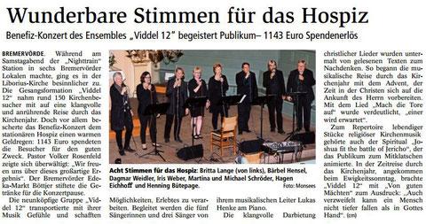 Bremervörder Zeitung, 14.10.2014