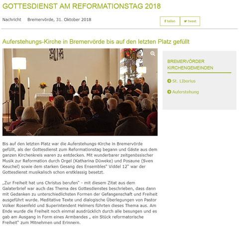 Pressemeldung Evangelisch-lutherischer Kirchenkreis Bremervörde - Zeven