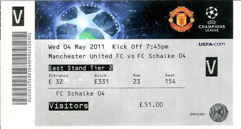 Manchester U  04.05.2011