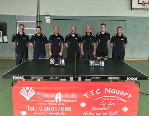 1. Herrenmannschaft des TTC Nauort