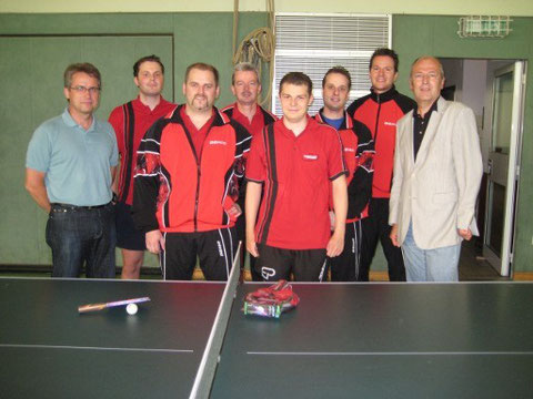 Benjamin Breiten, Marco Wiegel, Roger Wittenius, Tobias Breiten, Sascha Hoppen und Martin Freisberg