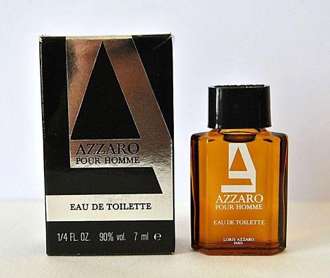 AZZARO POUR HOMME - EAU DE TOILETTE 7 ML - BOÎTE DIFFERENTE