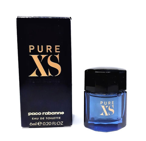 2017 - RABANNE PACO : PURE XS EAU DE TOILETTE 6 ML - MINIATURE IDENTIQUE A CELLE DE LA PHOTO PRECEDENTE