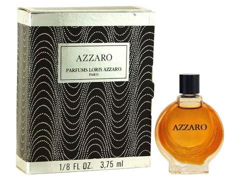 AZZARO - PARFUM 3,75 ML : FLACON LENTICULAIRE