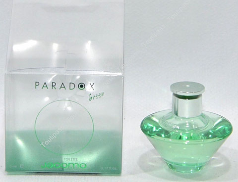 JACOMO - PARADOX GREEN : EAU DE TOILETTE 5 ML