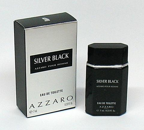 AZZARO SILVER BLACK - EAU DE TOILETTE POUR HOMME 7 ML : MINIATURE IDENTIQUE A LA PHOTO PRECEDENTE