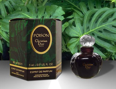 POISON - ESPRIT DE PARFUM - BOÎTE HEXAGONALE