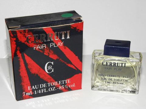 CERRUTI - FAIR PLAY, EAU DE TOILETTE POUR HOMME 7 ML